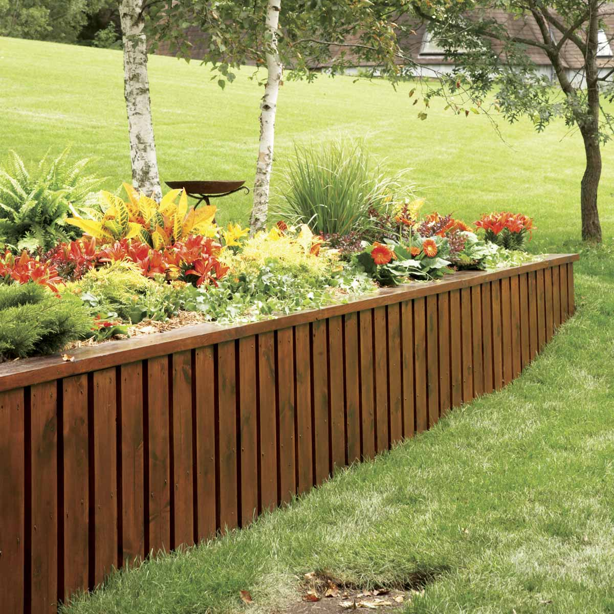 Concrete Retaining Wall Ideas: How To Build A Retaining Wall